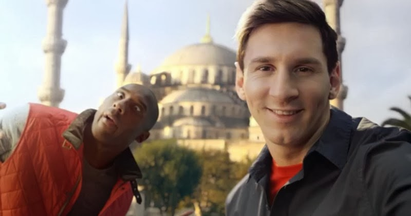 Kobe Bryant vs Leo Messi - Turkish Airlines Spot