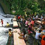 Waterfall Restaurant, San Pablo, Filippine