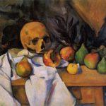 """""""Natura morta con il cranio"""" - Paul Cezanne"""