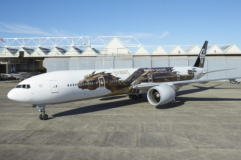 AIR NEW ZEALAND HOBBIT PLANE