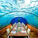 Restaurant Conrad, Maldive