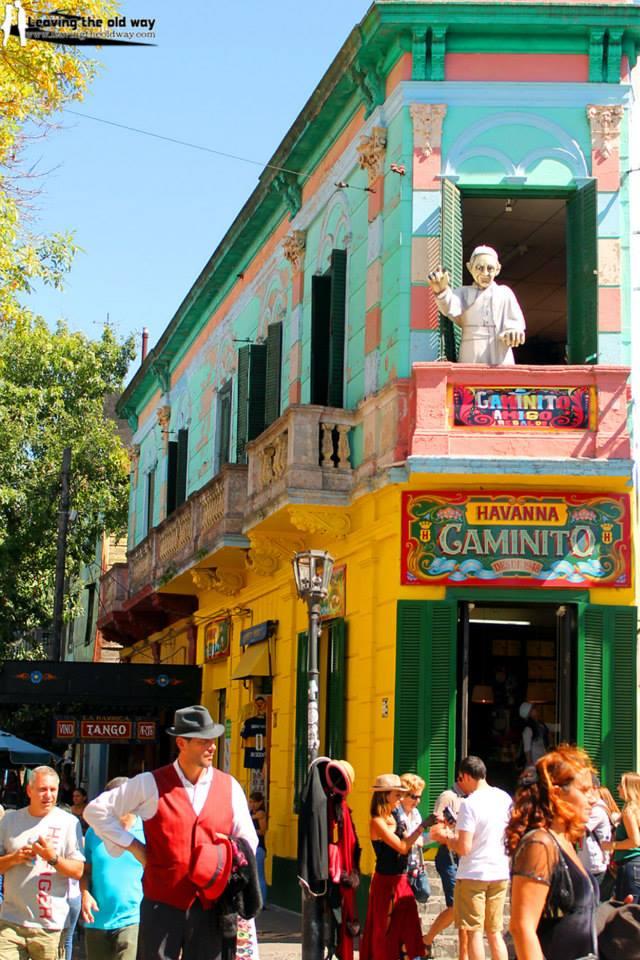 La Boca, El Caminito - Buenos Aires