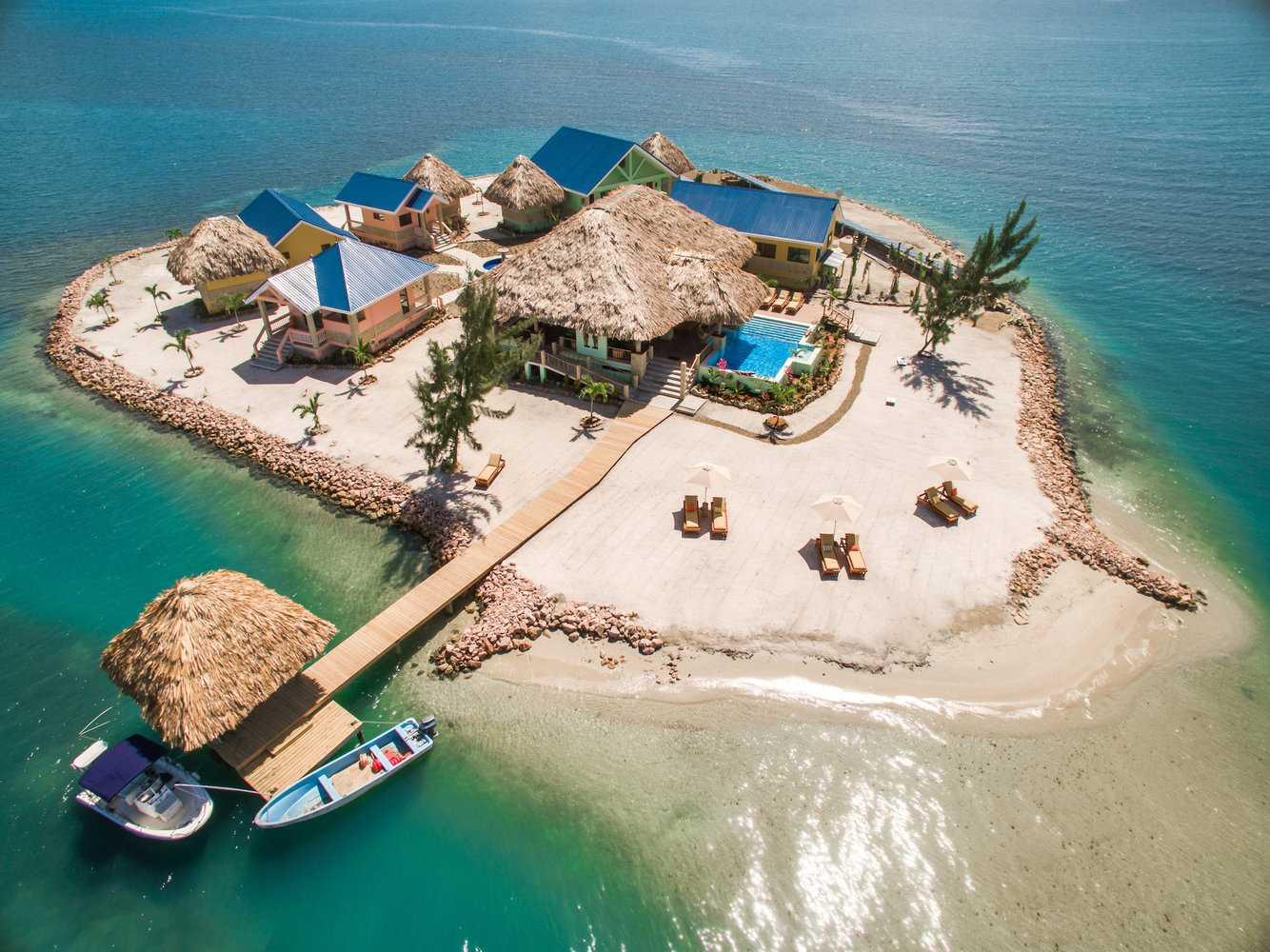 affittare un'isola privata