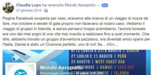 opinioni mondo aeroporto